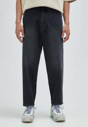 Jeans Relaxed Fit - mottled dark grey