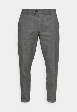 ERCAN CROPPED PANTS - Chino kalhoty - dark grey