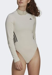 adidas Performance - Leotard - mottled beige