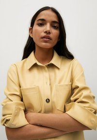Mango - NASTIA - Shirt dress - giallo pastello - 3
