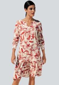 Alba Moda - Day dress - off white/rot - 0