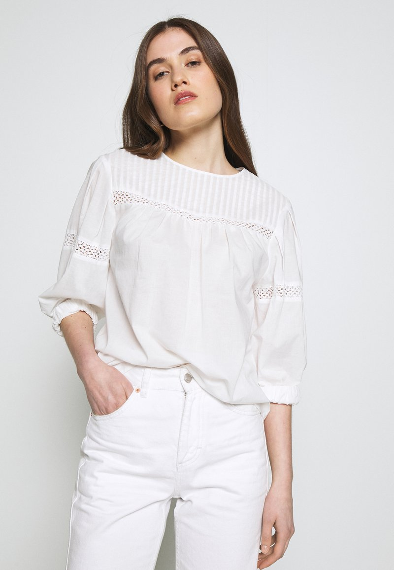 Carin Wester - BLOUSE BRISTOL - Bluser - white