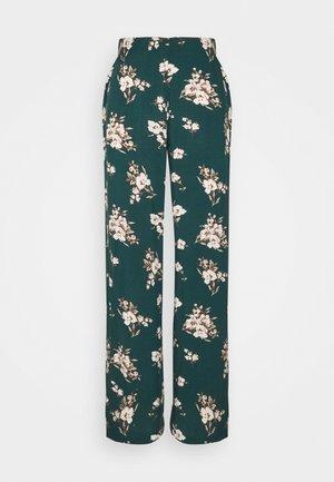 VMSIMPLY EASY WIDE PANT - Pantalon classique - ponderosa pine/sandy
