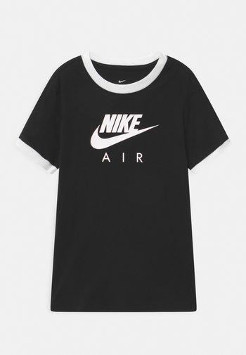 RINGER TEE - Print T-shirt - black/white
