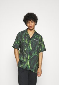 9N1M SENSE - SPECIAL PIECES UNISEX - Shirt - black/green - 0