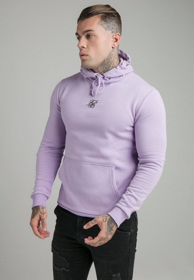 SIKSILK - CORE OVERHEAD HOODIE - Sweater - lilac
