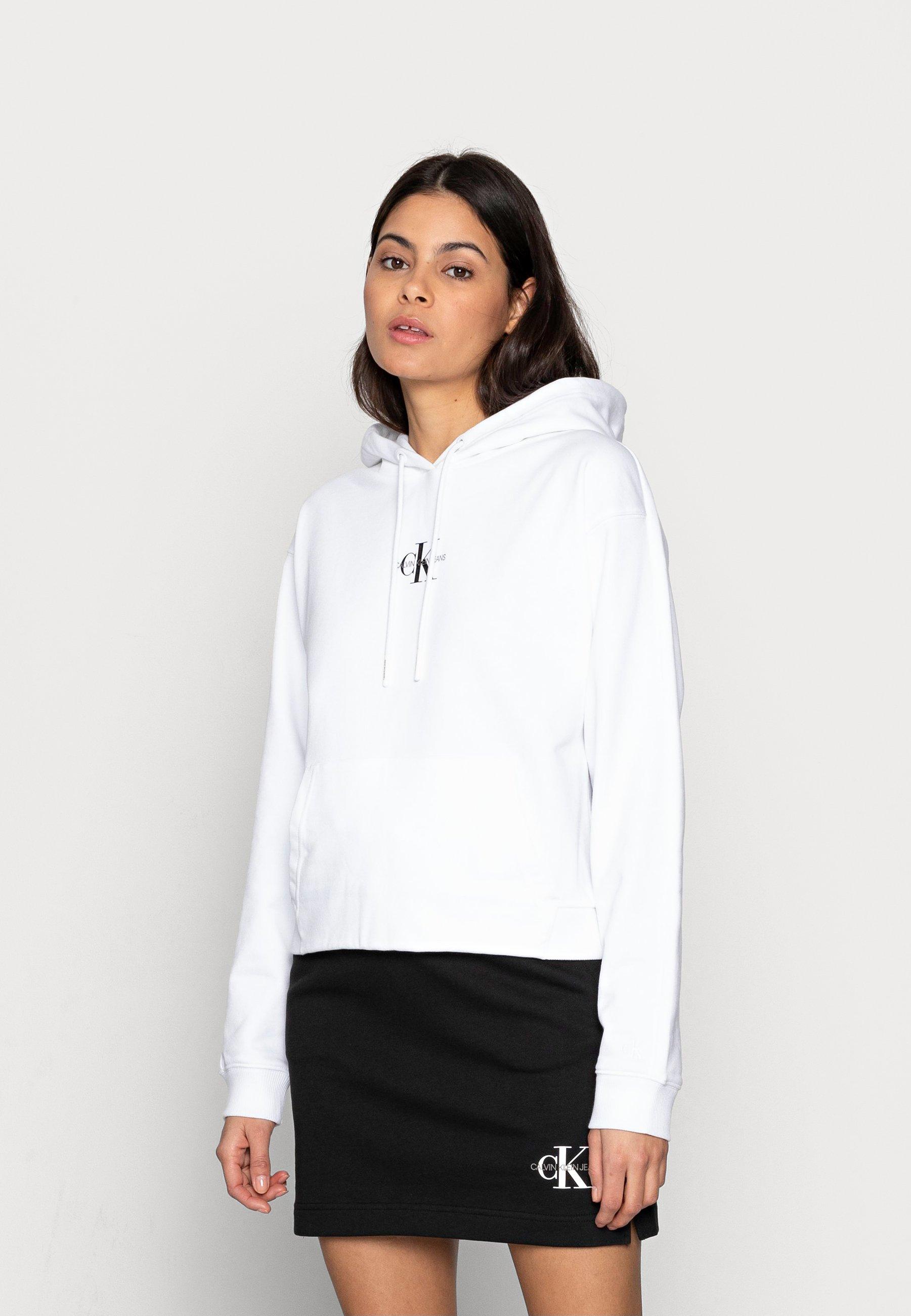 Damen CROPPED MONOGRAM HOODIE - Sweatshirt
