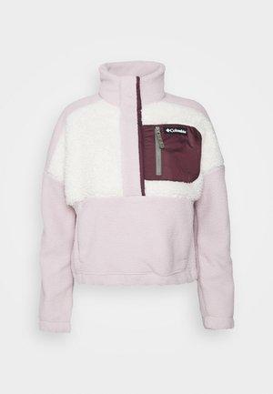 LODGE SHERPA - Fleece jumper - mineral/pink