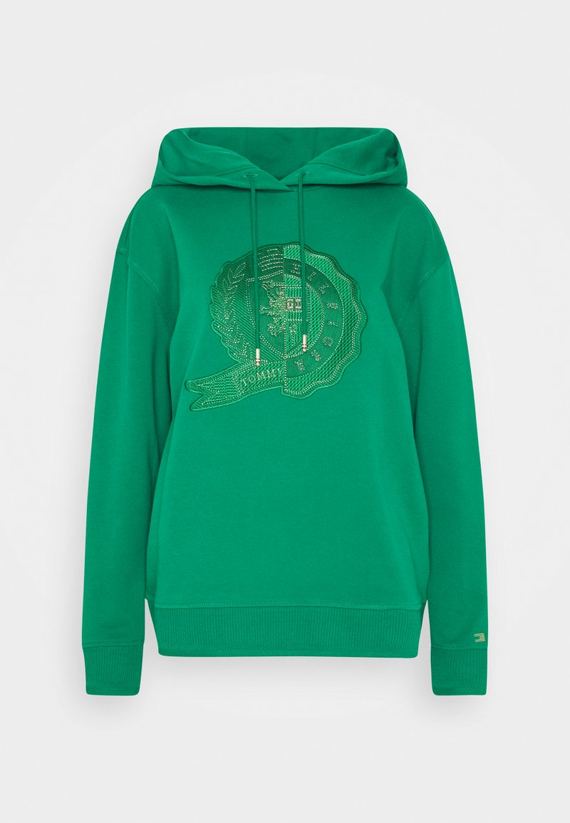 Tommy Hilfiger - ICON RELAXED HOODIE - Hoodie - nouveau green
