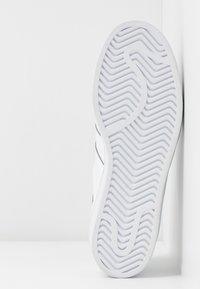 adidas Originals - SUPERSTAR BOLD - Trainers - footwear white/gold metallic - 8