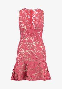 Love Triangle - DANUBE MINI DRESS - Cocktail dress / Party dress - brick red - 4