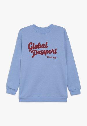 GLOBAL PASSPORT - Sweater - allure blue