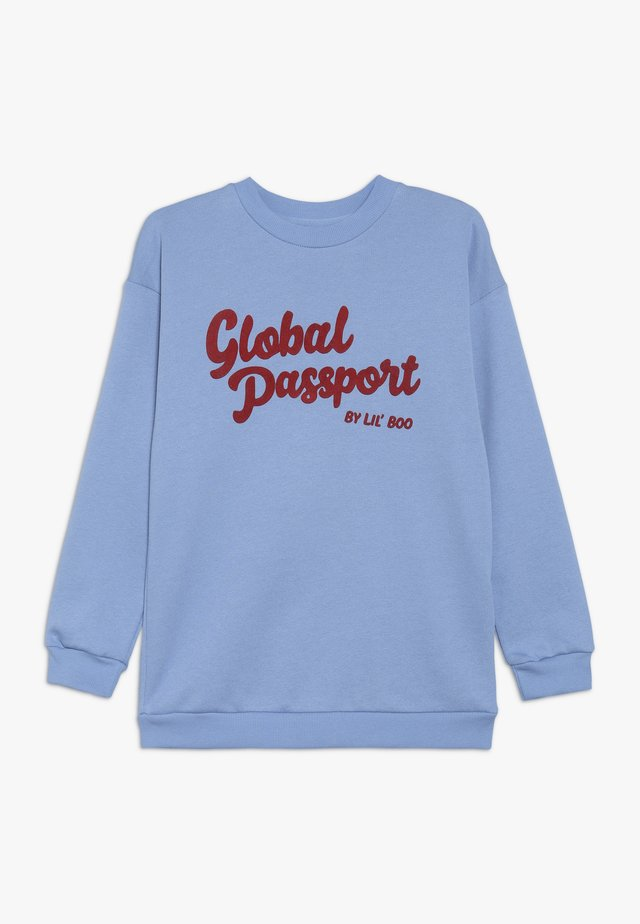 GLOBAL PASSPORT - Felpa - allure blue