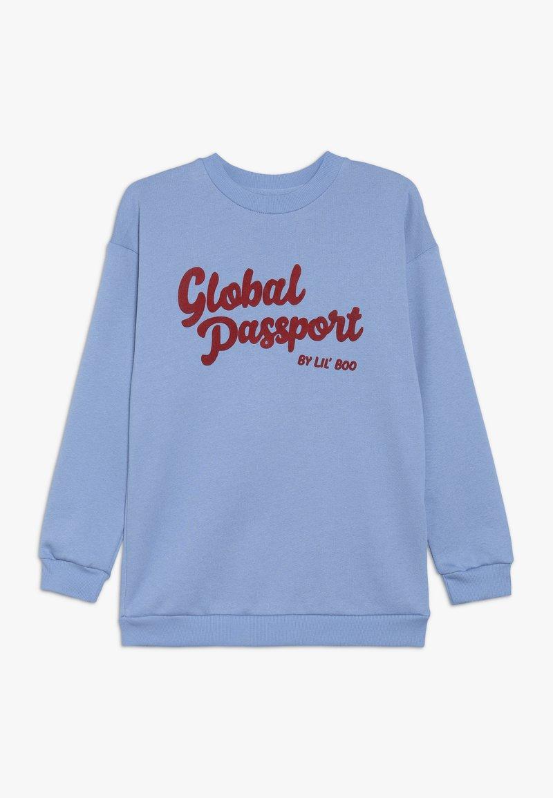 Lil'Boo - GLOBAL PASSPORT - Sweatshirt - allure blue