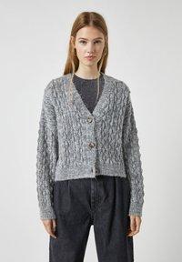 PULL&BEAR - Cardigan - grey - 0