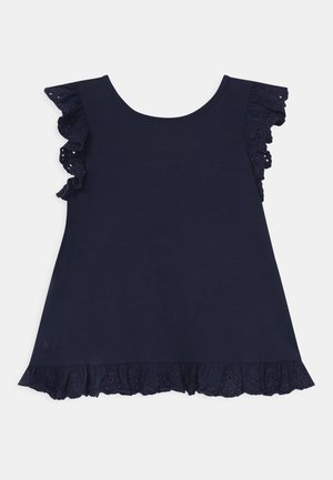 Print T-shirt - french navy