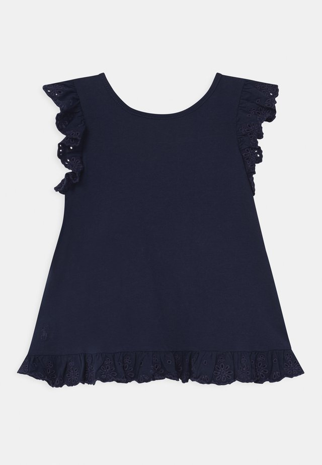 T-shirt con stampa - french navy