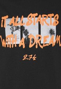 274 - DREAM TEE - Print T-shirt - black - 6