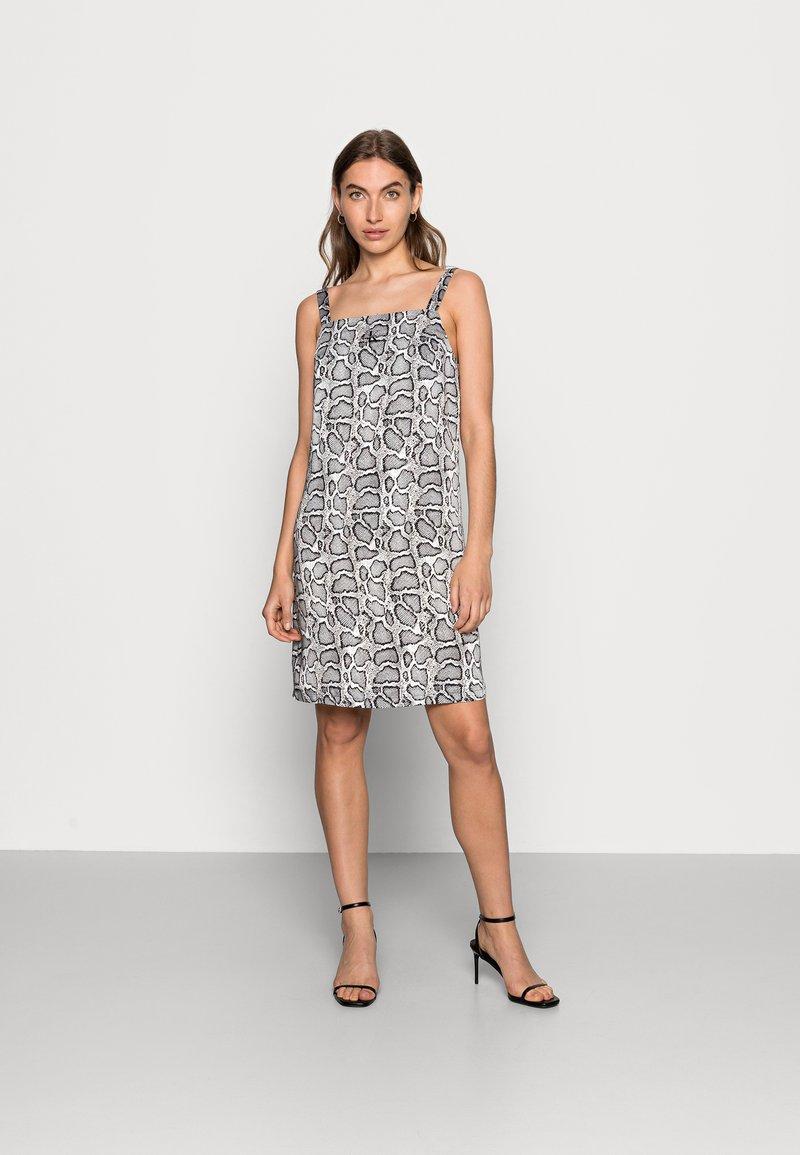 Calvin Klein Jeans - WIDE STRAPS DRESS - Cocktail dress / Party dress - beige