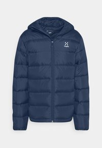 Haglöfs - BIELD HOOD MEN - Down jacket - tarn blue - 4