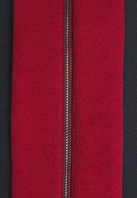 Bally - veste en sweat zippée - ink/red/bone - 5