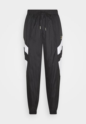 WORLDHOOD TRACK PANTS - Verryttelyhousut - black