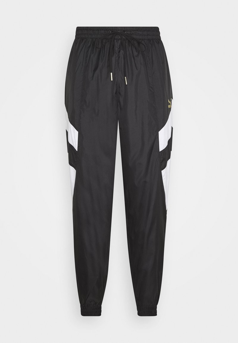 Puma - WORLDHOOD TRACK PANTS - Tracksuit bottoms - black