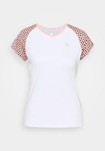 HYPERCOURT  - Print T-shirt - white