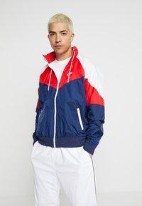 Nike Sportswear - Summer jacket - midnight navy/university red/summit white - 0