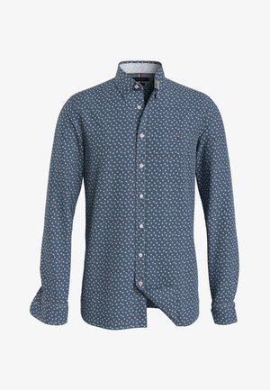 SLIM FIT - Shirt - navy/light blue