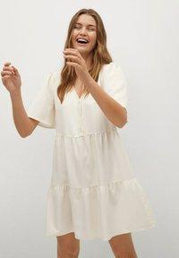 Mango - RITA-L - Day dress - beige - 0