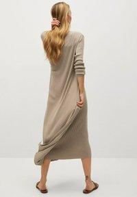 Mango - CANE-A - Jumper dress - lyst/pastell grå - 1