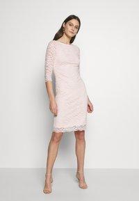 Esprit Collection - LEAVE STRETCH - Sukienka koktajlowa - pastel pink - 1