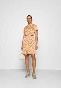 Fabienne Chapot - BOYFRIEND COCO DRESS - Shirt dress - pink - 1