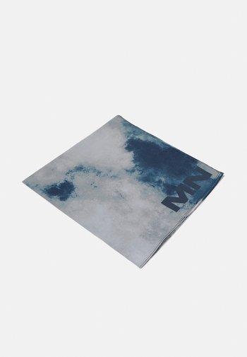 TIE DYE BANDANA UNISEX - Foulard - dark grey