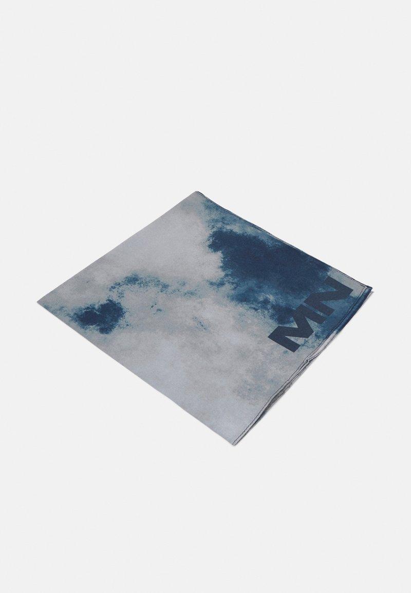 Mennace - TIE DYE BANDANA UNISEX - Foulard - dark grey