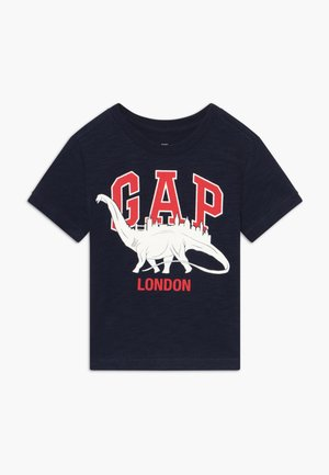 TODDLER BOY CITY TEE - Print T-shirt - navy