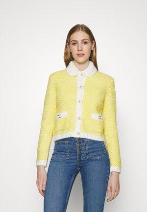 MISSIONY - Cardigan - jaune