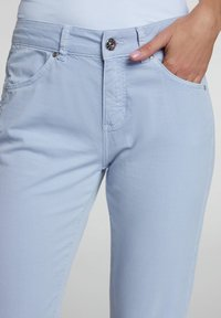 Oui - Slim fit jeans - zen blue - 3