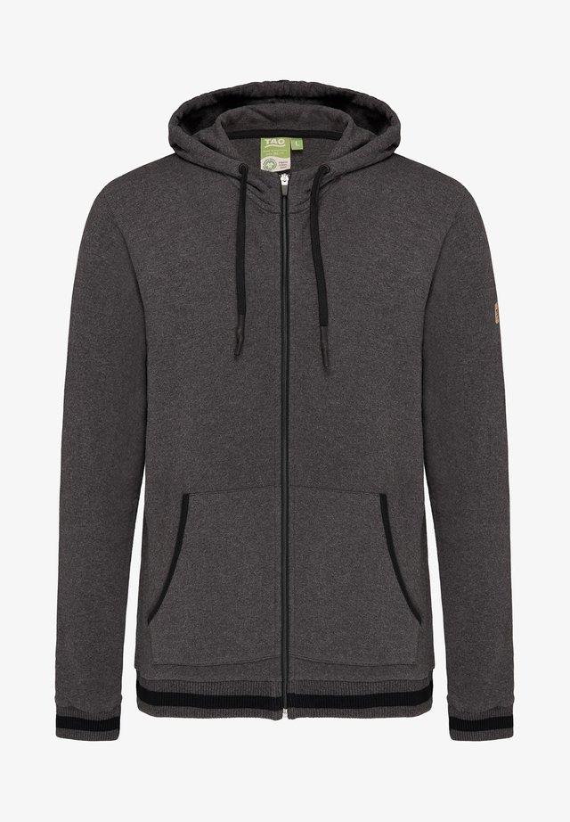 Zip-up hoodie - graphit melange
