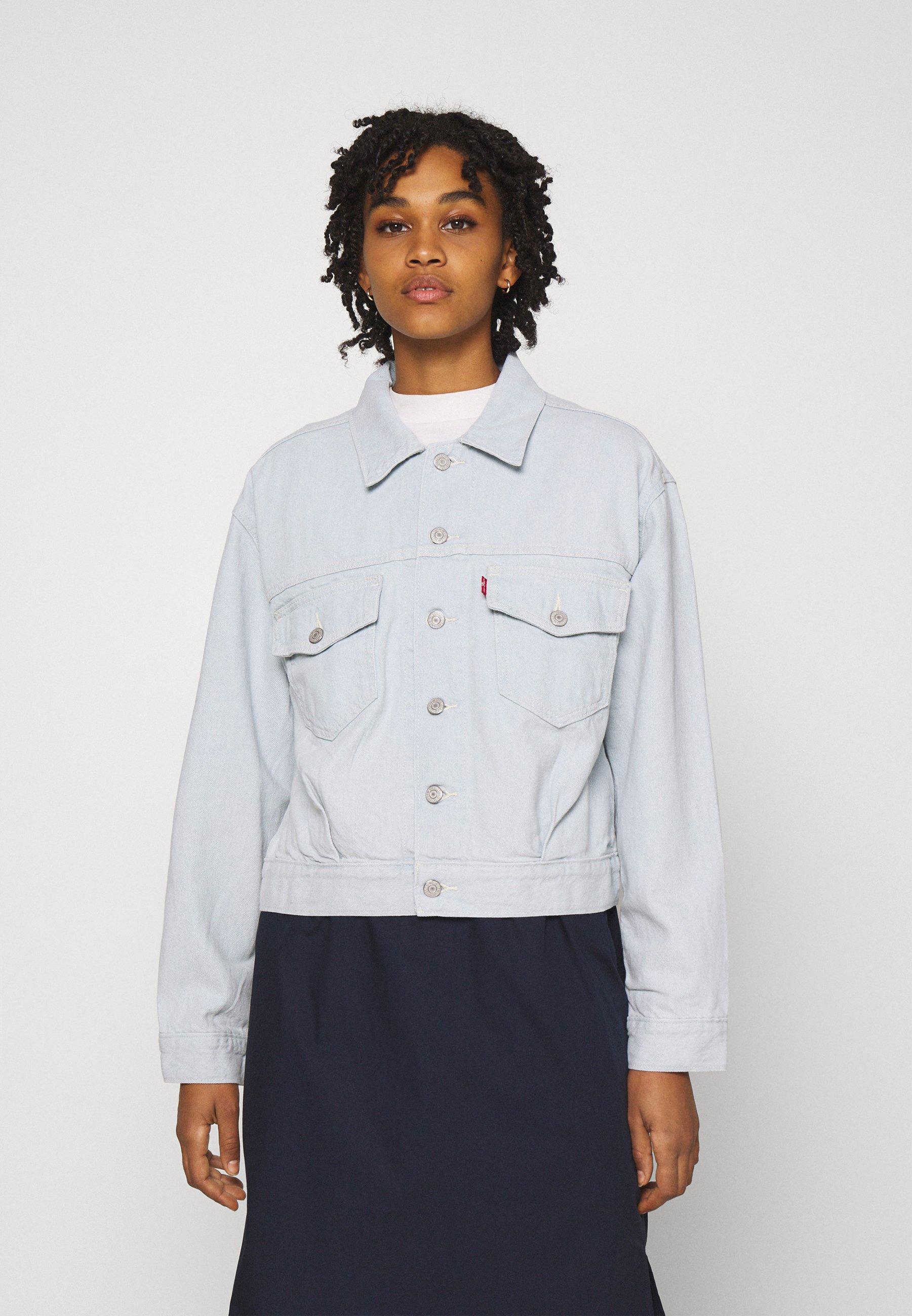 Women OVERSIZED UTILITY TRUCKR - Denim jacket