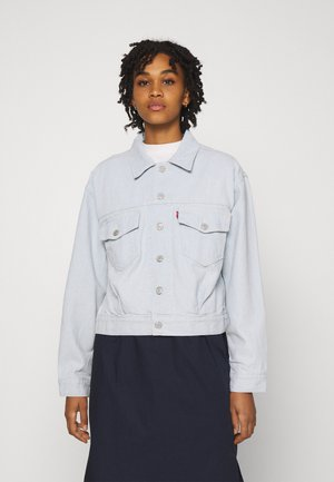 OVERSIZED UTILITY TRUCKR - Kurtka jeansowa - waste not