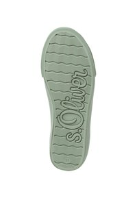 s.Oliver - Sneakers laag - green - 3