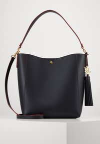 Lauren Ralph Lauren - ADLEY SHOULDER MEDIUM - Handbag - navy