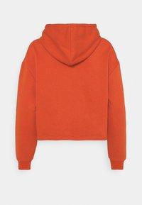 Pieces Petite - PCCHILLI HOODIE  - Sweatshirt - burnt ochre - 1