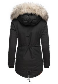 Navahoo - WINTERMANTEL LADY LIKE - Winter coat - black - 1