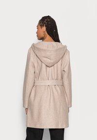 Freequent - HOODY - Classic coat - birch melange - 2