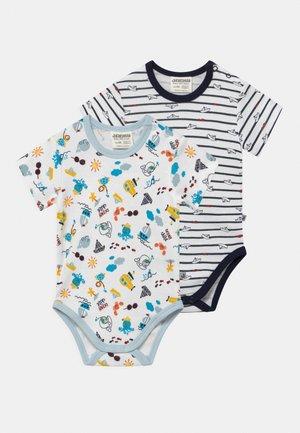 OCEAN CHILD 2 PACK - Body - white/dark blue