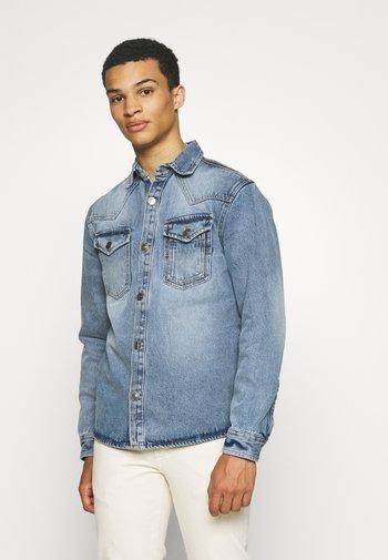 Camisa - mid blue