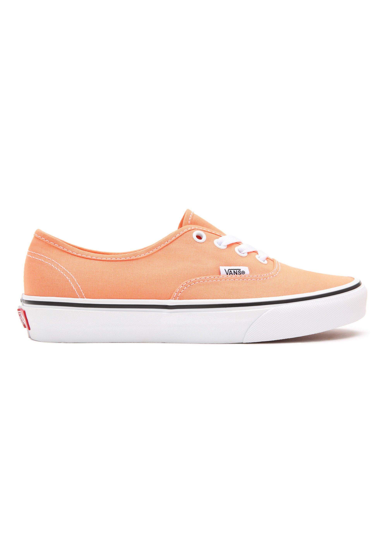 UA AUTHENTIC - Chaussures à lacets - cadmium orange/true white